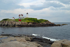 Nubble Light House Stock Images
