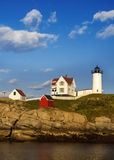 Nubble Light Vertical Royalty Free Stock Images