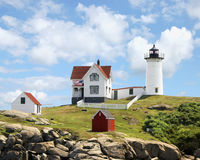 Free Nubble Light York Maine Stock Image - 8799931