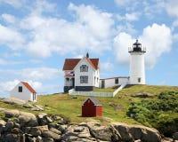 Nubble Light York Maine Stock Image