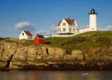 Free Nubble Lighthouse Royalty Free Stock Photos - 6445838