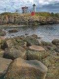 Nubble Lighthouse Maine Royalty Free Stock Images