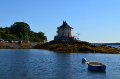 The Nubble off Bustin's Island Royalty Free Stock Image