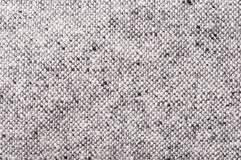 Nubby tweed pattern black and white. Close up of nubby tweed pattern black and white Stock Photos
