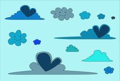 nube illustrazione di stock