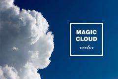 Nube abstracta del vector Entinte remolinar en el agua, nube de la tinta en agua en blanco Pinturas abstractas de la bandera Holi Foto de archivo