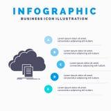 nube, acceso, documento, fichero, plantilla de Infographics de la transferencia directa para la página web y presentación Icono g libre illustration