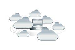 Nube alrededor Imagen de archivo