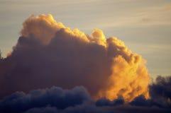 Nube ardente Fotografia Stock Libera da Diritti
