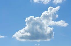 Nube bianca Fotografie Stock