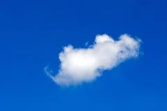 Nube bianca Immagine Stock Libera da Diritti