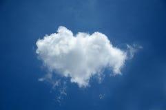 Nube bianca Fotografia Stock