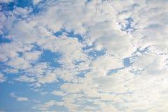 Nube blanca Fotografía de archivo libre de regalías