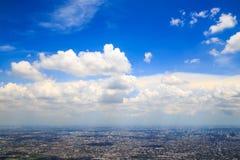 Nube blanca blusky Imagen de archivo libre de regalías