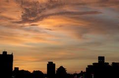 Nube, cielo y paz Fotos de archivo libres de regalías