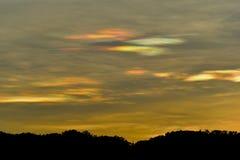 Nube colorida Imagen de archivo libre de regalías