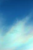 Nube colorida iridiscente hermosa Imagenes de archivo