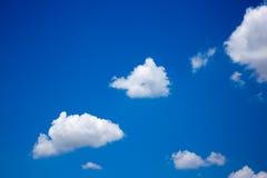 Nube con cielo blu Immagine Stock Libera da Diritti