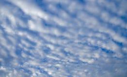Nube de Altocumulus Fotos de archivo