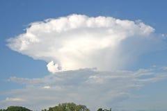 Nube de cumulonimbus foto de archivo libre de regalías