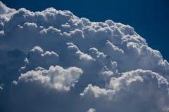 Nube de cumulonimbus foto de archivo