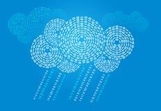 Nube de Digitaces Fotos de archivo