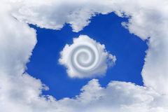 Nube de Dreamstime Fotografía de archivo