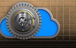 nube de la nube 3d Libre Illustration