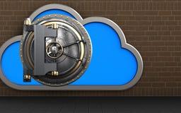 nube de la nube 3d Foto de archivo libre de regalías