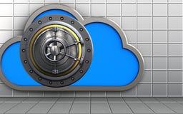 nube de la nube 3d Fotos de archivo libres de regalías
