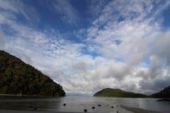 Nube de la mañana Imagenes de archivo