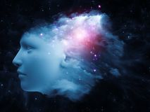 Nube de la mente Fotos de archivo