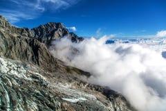 Nube de la montaña Fotografía de archivo