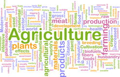 Nube de la palabra de la agricultura libre illustration