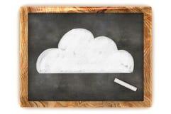 Nube de la pizarra Fotografía de archivo