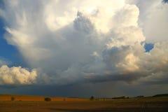Nube de la tempestad de truenos Fotografía de archivo libre de regalías