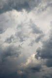 Nube de la tempestad de truenos Foto de archivo
