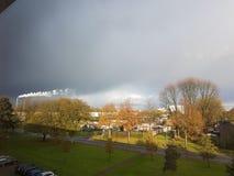 Nube de lluvia Fotografía de archivo libre de regalías
