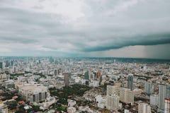 Nube de lluvia fotografía de archivo