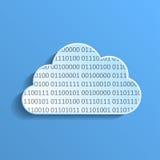Nube de los datos Imagen de archivo