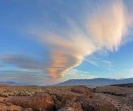 Nube de onda de Sierra Fotos de archivo