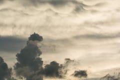 Nube de tormenta Foto de archivo libre de regalías