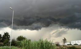 Nube de trueno Fotografía de archivo libre de regalías