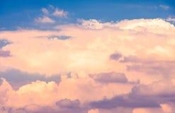 Nube del alto contraste imágenes de archivo libres de regalías