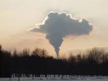 Nube del camino Immagine Stock