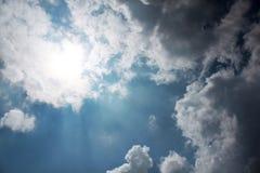 nube del cielo Fotos de archivo libres de regalías