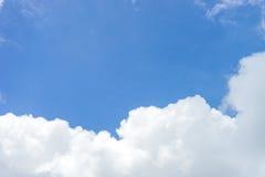 Nube del cielo blu fotografie stock libere da diritti