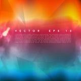 Nube del color de agua del vector Imagen de archivo
