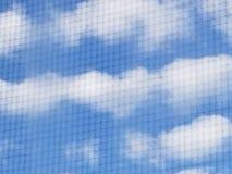 Nube del corazón imagen de archivo libre de regalías