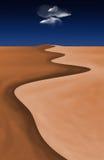 Nube del deserto illustrazione di stock